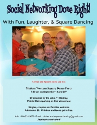 Fun, Friendship and Fitness:  Come Square Dance with Us