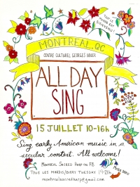 Sacred Harp All Day Sing FREE/PWYC