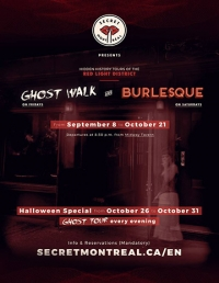 Montreal Burlesque Walking Tour