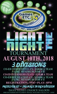 Light the Night Volleyball Tournament