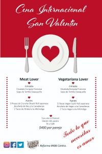 Saint Valentine Dinner