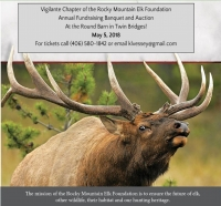Rocky Mountain Elk Foundation Banquet