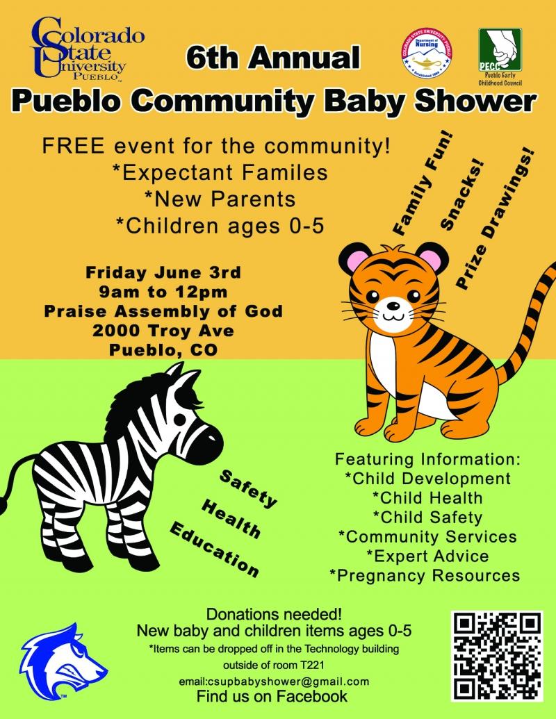 pueblo community baby shower 06 03 2016 pueblo colorado praise