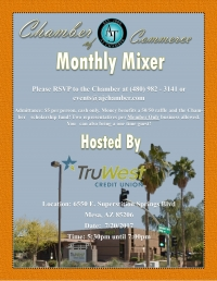 July Mixer hosted by TruWest Credit Union