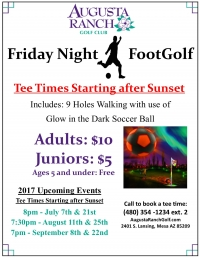 Friday Night Footgolf