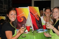 Paint & Wine Class with Carla Keaton