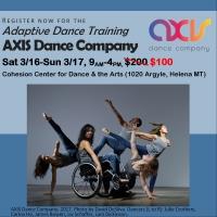 AXIS Dance Company Training