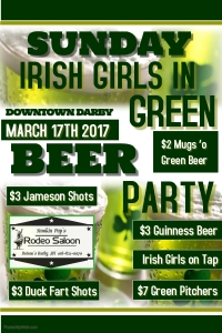 Green Beer Party