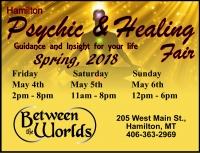 Hamilton Psychic and Healing Fair Spring 2018