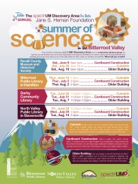spectrUM Summer of Science at Bitterroot Public Library