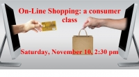 On-line shopping: a consumer guide