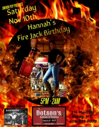 Hannah?s Jack Fire Birthday Bash