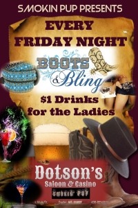 Boots & Bling Ladies Night