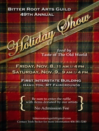 Bitterroot Arts Guild Holiday Show & Sale