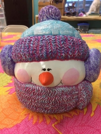 Paint A Snowman Ceramic Event