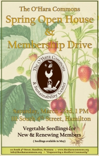 O'Hara Commons Spring Open House & Membership Drive'