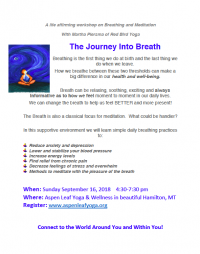 The Journey Into Breath