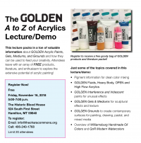 Nancy Seiler: A to Z of Acrylics