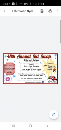 48th Annual Lost Trail Ski Patrol SKI SWAP