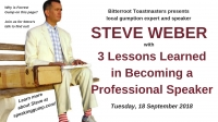 3 Lessons Learned in Becoming a Professional Speaker