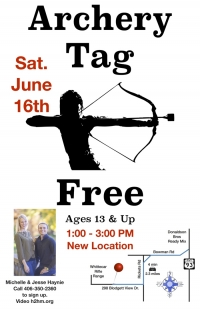 FREE Archery Tag