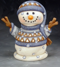 Do you want to paint a light up Snowman?