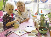 Mothers Day Par-Tea (Teapot Glazing)