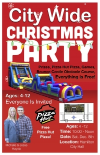 Kidsplace CITY-WIDE Christmas Party