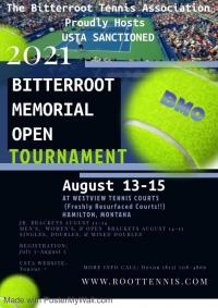 Bitterroot Memorial Open Tennis Tournament