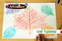 Free! Leaf Rubbings at Ravalli County Museum