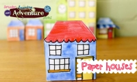 Paper Houses at Ravalli County Mueum