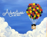 BYO Wine & Paint 'Adventure is out There'!