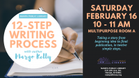 12-Step Writing Process with Author Margo Kelly