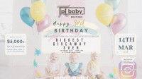 pi baby boutique's 3rd anniversary