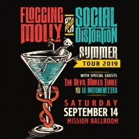 Social Distrotion and Flogging Molly