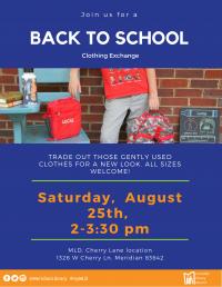 Back-to -School Clothing Exchange