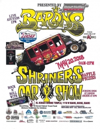 Barons Car Show benefiting Shriners Patient Travel Fund