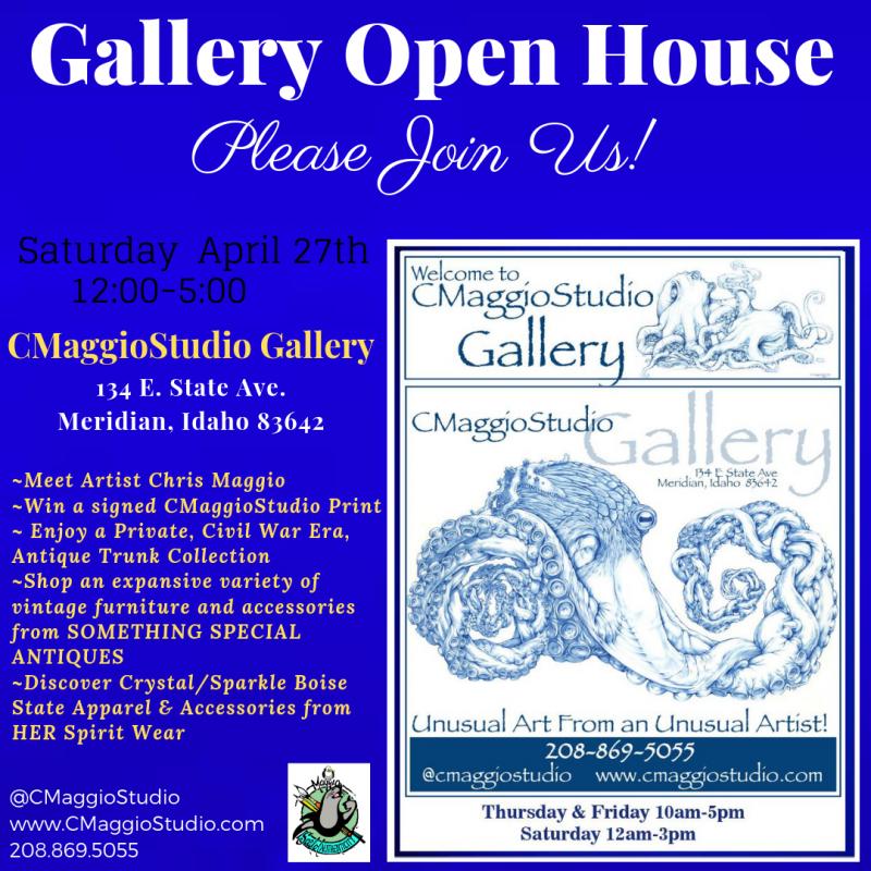 CMaggioStudio Art Gallery Grand Opening 04/27/2019 Meridian, Idaho