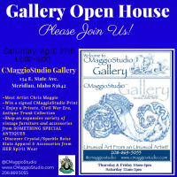 CMaggioStudio Art Gallery Grand Opening
