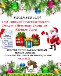 2nd Annual Procrastinators Dream Christmas Event