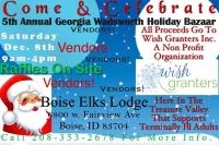 5th Annual Georgia Wadsworth Holiday Bazaar