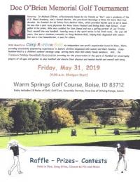 Doc O'Brien Memorial Golf Tournament