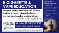 E-Cigarette & Vape Education Class