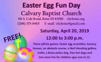 Easter Fun Day