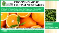 Eat Smart Idaho: Choosing More Fruits and Vegetables