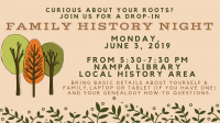 Family History Night (Open Research session)