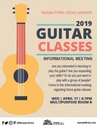 Guitar Classes Informational Meeting