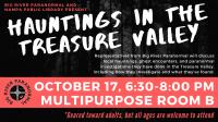Hauntings in the Treasure Valley