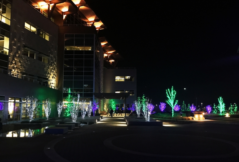 Scentsy Campus Christmas Lighting Event - Scentsy Campus Christmas Lighting Event 11/16/2017 Meridian, Idaho