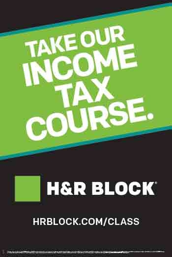 H R Block Income Tax Course 09 01 2014 Education Event Boiseevents